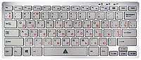 Клавіатура Golden Field K111SS срібляста