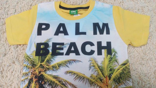 Футболка на мальчика Palm Beach