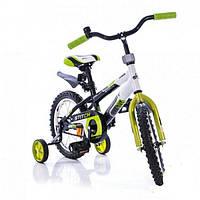 Детский велосипед Azimut Stitch 12 салатовый