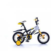 Детский велосипед Azimut Stitch 12 желтый