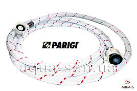 """Шланг для стиральной машины Parigi Nylonflex (1,5 м.) 3/4""""x3/4"""" заливной нейлоновый (Италия)"""