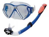 Набір для плавання Aviator Pro Intex 55960 для пірнання, дайвінгу, снорглінгу, вік від 8 років