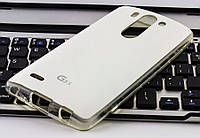 Накладка для LG D724/D722 G3S VOIA Jell Skin белая