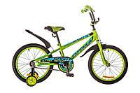 """Детский велосипед 18"""" FORMULA SPORT 2017 (Зелено-синий)"""