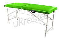 """Массажный стол-кушетка """"Comfort"""" Неоновый зеленый"""