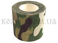 Маскировочная лента 5 х 450 см клейкая CP Camouflage (покрытие хлопок)Маскировочная лента 5 х 450 см клейкая C