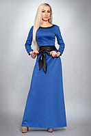 Модное платье для деловой встречи из французского трикотажа