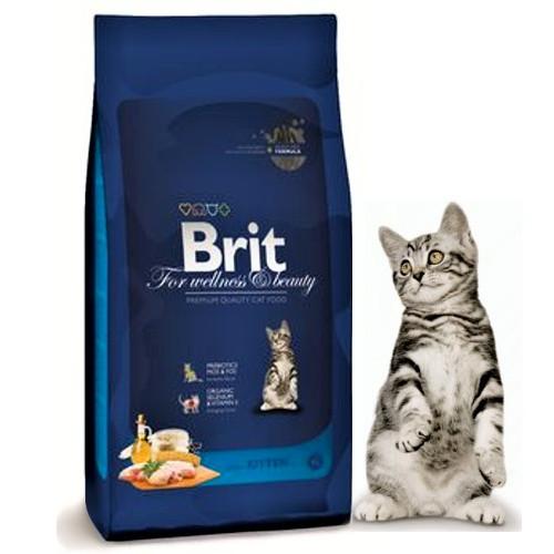 Brit Premium Cat Kitten  1,5кg для котят 1-12 месяцев