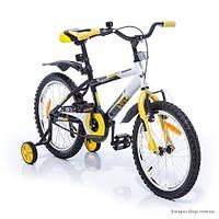 Детский велосипед Azimut Stitch 18 желтый