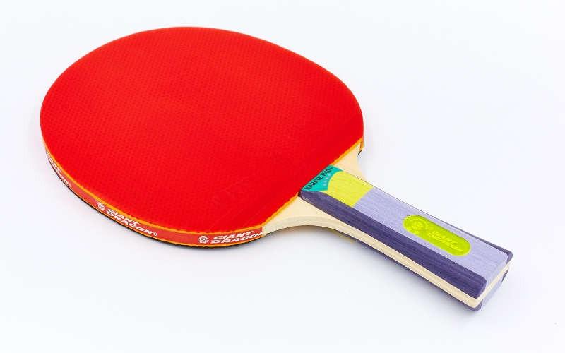 Ракетка для настольного тенниса 1 штука GD KARATE P40+ 4* MT-5691 (древесина, резина) Z