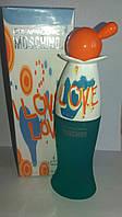 Женская туалетная вода Moschino Cheap and Chic I Love Love , москино духи женские