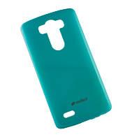 Силиконовый чехол для LG D855/D850/D856 Dual G3 Melkco Poly Jacket синий+пленка