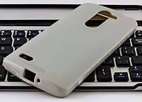 Накладка силиконовая для LG D335 L Bello Dual Melkco Poly Jacket серая+пленка
