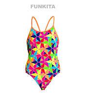 Сдельный купальник для девочек Funkita The Joker FS11, фото 1