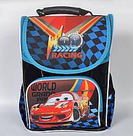 Школьный рюкзак с ортопедической спинкой для мальчика - CARS - 87-1731