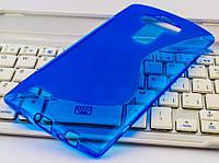 Накладка силиконовая для LG G4 H815 New Line X-Series синий