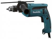 Электродрель ударная Makita HP 1640, 650 Вт, 0-2800 об/мин, 0-44800 уд/мин, патрон 1,5-13 мм, вес 1,7 кг