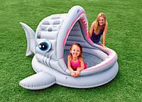 Детский бассейн Акула 57120 Intex (201х198х109), фото 1