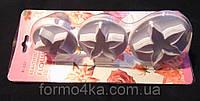Плунжера для мастики цветок 3 шт, фото 1