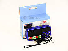 Радиоприёмник UKC-T7 USB, 2 SD, аккум. 18650, фото 3