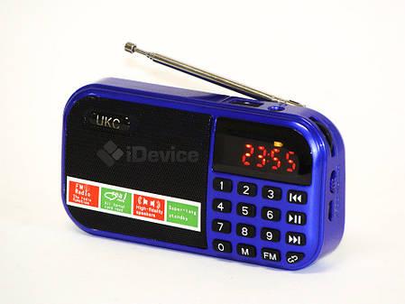 Радиоприёмник UKC-T7 USB, 2 SD, аккум. 18650, фото 2