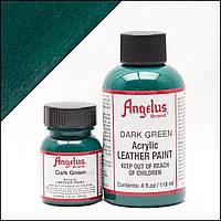 Краска для кожи Angelus Dark Green (темно зеленый)