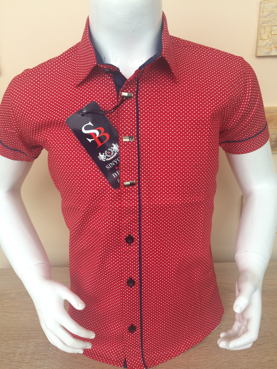 Детская рубашка с коротким рукавом Sinyor Besni 1-5
