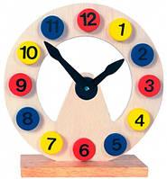 Деревянные часы-пазл, Bino (84050)