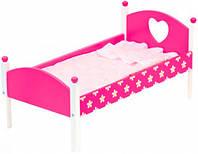 Кроватка для кукол с одеялом, Bino (83700)