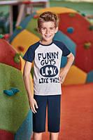 Комплект футболка и капри для мальчика BERRAK  5318