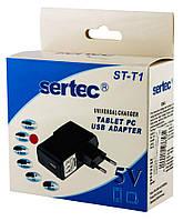 Зарядное устройство ST-T1+2,5mm 5V/2A для планшета и видео камеры