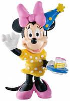 Фигурка Минни Маус: праздник, Disney Mickey Mouse & Friends, Bullyland (15339)