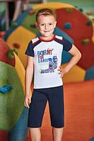 Комплект футболка и капри для мальчика BERRAK  5312
