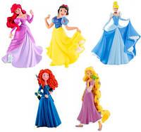 Набор фигурок Принцессы Дисней (5 шт.), Disney Princess, Bullyland (12047)