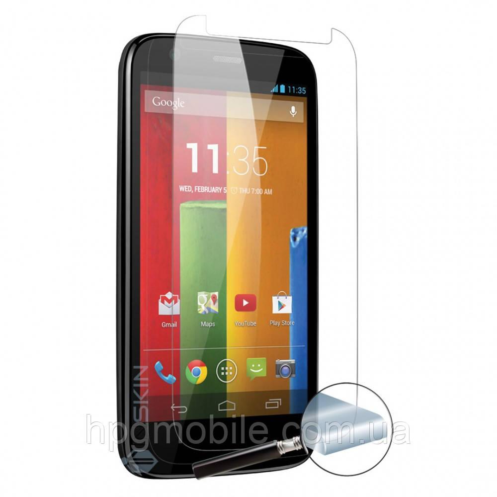 Защитное стекло для Motorola Moto G3 - 2.5D, 9H, 0.26 мм