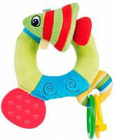 Погремушка мягкая Цветной океан - рыбка, Canpol babies (68/015-2)
