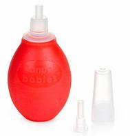Аспиратор для носа с двумя насадками (красный), Canpol babies (9/119-2)