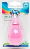 Аспиратор для носа с мягкой насадкой (розовый), Canpol babies (56/119-2)