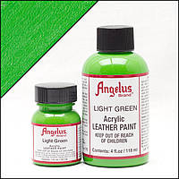 Краска для кожи Angelus Light Green (светло зеленый)