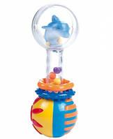 Погремушка Прозрачный шар (дельфин), Canpol babies (2/457-1)