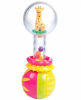 Погремушка Прозрачный шар (жираф), Canpol babies (2/457-2)