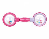 Погремушка Штанга (фиолетовая с розовым), Canpol babies (2/606-2)