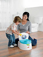 Горшок Fisher-Price Learn-to-Flush Potty