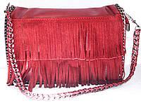 Женские клатч на плечо с бахромой