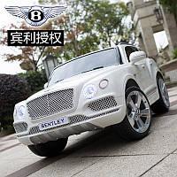 Детский электромобиль Bentley JJ 2158 ELR-1: 60W, EVA, кожа - Белый -купить оптом, фото 1