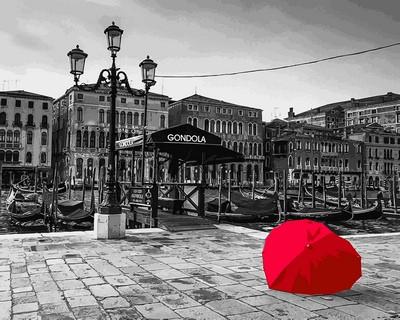 Набор-раскраска по номерам Очарование Венеции Худ Асаф Франк
