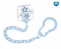Держатель для пустышки Младенец (цвет голубой), Canpol babies (10/877-2)