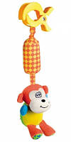 Игрушка-подвеска мягкая с колокольчиком Обезьянка, Canpol babies (68/009-1)