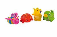 Игрушки для купания Зверьки 4 шт, Canpol babies (2/997)