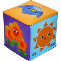 Игрушка-кубик Природа с колокольчиком, Canpol babies (2/706-2)